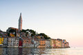 Architecture of rovinj croatia istria touristic attraction Stock Photos