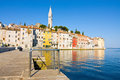 Architecture of rovinj croatia istria touristic attraction Royalty Free Stock Images
