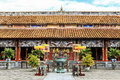 Architecture Of Temple The Hue...