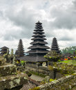 Architecture traditionnelle de balinese le temple de pura besakih Images stock