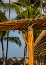 Architecture at tropical resort in punta cana Stock Photography