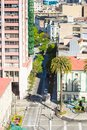 Architecture of Valparaiso, Chile Royalty Free Stock Photo
