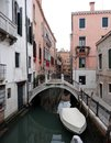 Canal And Architecture In Venice