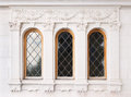 Architecture and windows of renaissance style Royalty Free Stock Photo