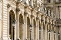 Architektur in Paris Stockfoto