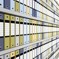 Archive folder background Royalty Free Stock Photography