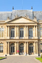 Archives building in paris france july view of the nationals national the marais district france Stock Image