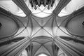 Archway Ceiling. Church Vault