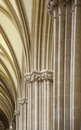 Archways in Wells Cathedral, Somerset Stock Images