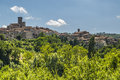 Arcidosso grosseto tuscany italy panoramic view ancient town Royalty Free Stock Image