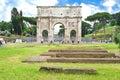 Arco di Constantino in Rome, It Stock Images