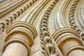 Arcos de piedra curvados Imagen de archivo libre de regalías
