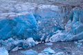 Arctic glacier area novaya zemlya Royalty Free Stock Photos
