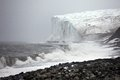 Arctic glacier franz josef land Stock Photos