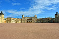 The area in front of the palace in gatchina sunny day Stock Images
