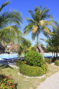 Area of hotel Sol Cayo Largo. Royalty Free Stock Photos