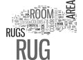 Area Rug Buyers Guideword Cloud Royalty Free Stock Photo
