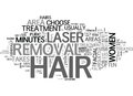 Areas Of The Body That Can Be Treated With Laser Hair Removal Word Cloud
