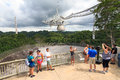 Arecibo tourists Royalty Free Stock Photo