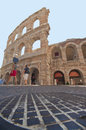 Arena di verona the ancient the third in its size in italy Royalty Free Stock Photography