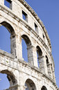 Arena in pula croatia roman amphitheatre built between bc ad Stock Image