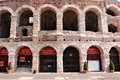 Arena of verona ancient roman amphitheatre italy Stock Photography