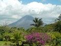 Arenal Volcano Royalty Free Stock Photos