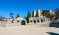 Arenes de cimiez in nice french riviera Royalty Free Stock Photography