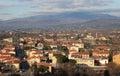 Arezzo overview Royalty Free Stock Photo