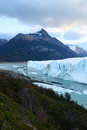 Argentina glacier a big in Royalty Free Stock Photos