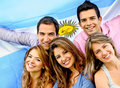Argentinean group Stock Photo
