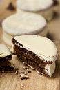 Argentinean-uruguayan alfajores Royalty Free Stock Photo