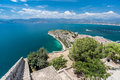 Argolic Gulf Palamidi Castle Nafplio Greece Stock Photography