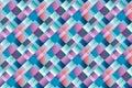 Argyle Geometry Seamless Pattern