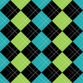 Argyle Pattern Blue EPS Stock Image