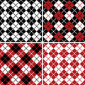 Argyle Pattern_Harlequin Stock Photography