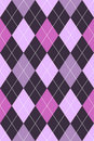 Argyle Pattern Pink & Purple Royalty Free Stock Photos