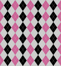Argyle Patterned Background