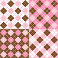 Argyle Patterns Stock Photos