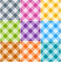Argyle patterns Royalty Free Stock Photos