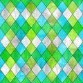 Argyle seamless pattern background. Royalty Free Stock Photo