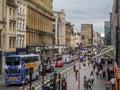 Argyle Street, Glasgow Royalty Free Stock Photo