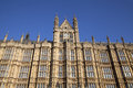 Arhitectur detail of houses of parliament london fragment united kingdom Stock Photo