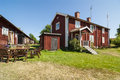 Arholma youth hostel swedish vandrarhem in stockholm northern archipelago sweden Stock Photo