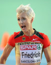 Ariane Friedrich of Germany Stock Images