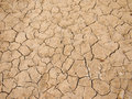Arid  Earth,China Royalty Free Stock Image