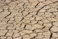 Arid earth china cracked drought Stock Image