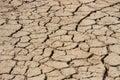 Arid earth china cracked drought Stock Image
