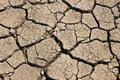 Arid earth china cracked drought Royalty Free Stock Images