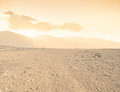 Arid landscape composite image of Royalty Free Stock Photos